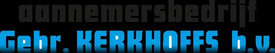 logo aannemersbedrijf Kerkhoffs Beek Limburg